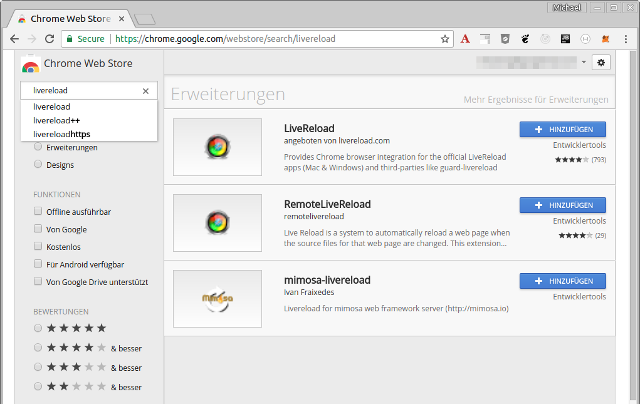 LiveReload in Chrome and Firefox with SpringBoot and IntelliJ IDEA
